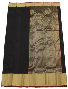 Black Afroza Chanderi Silk Cotton Saree