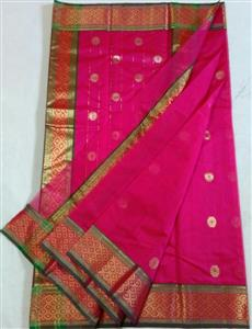 chanderi nakshi border saree