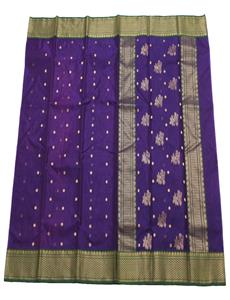 Jamuni Shaded Chanderi Silk Saree