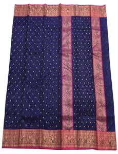 Mhendi Hand Chanderi Silk Saree