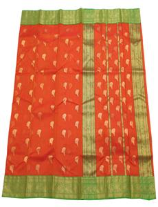 Chanderi-Sarees-Chanderi-silk-sarees-Orange-Chanderi-Silk-Saree-10102018094455