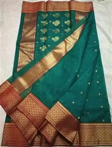 Small Trees Chanderi Silk Saree
